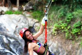 Zip Line & Water Fall